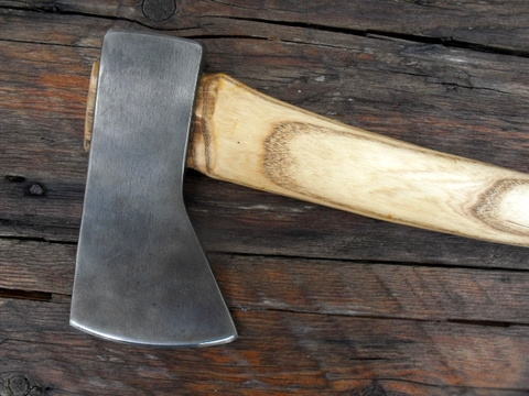 hand made camp axe