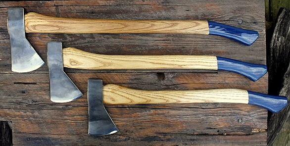 hand forged Hudson Bay axes