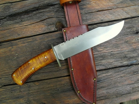 custom hand made period Bowie knife