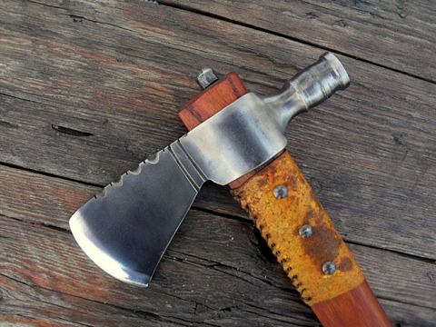 hand forged pipe-hawk