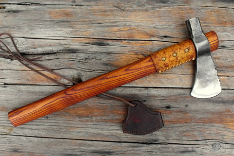 custom French hammer poll tomahawk