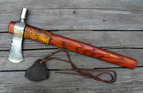 custom hand-forged hawk