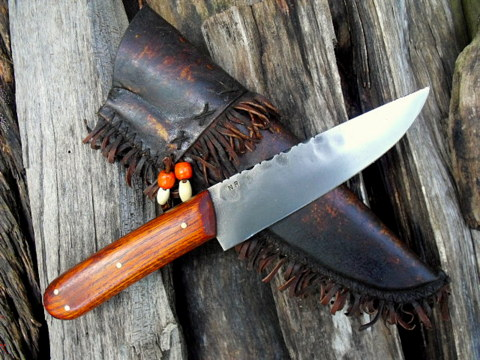 period custom trade knife