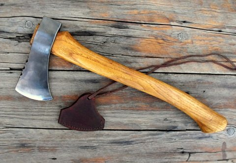 hand forged frontier trail axe