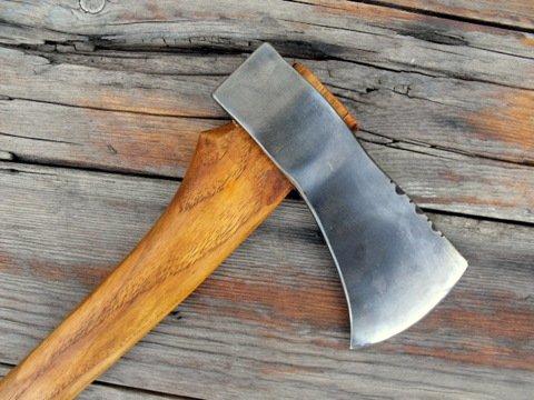 hand made axe