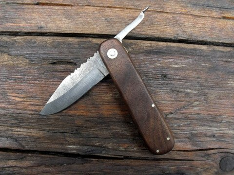 handmade vintage style friction folder