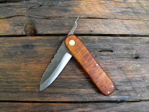 vintage style friction folder
