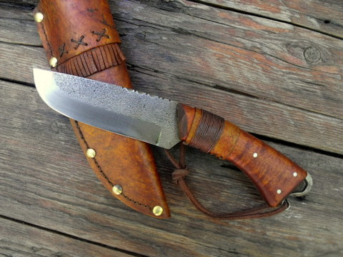 Hand-forged knife, Period frontier trade knife