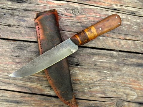 trade knife from the fur trade era
