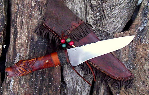 frontier belt knife