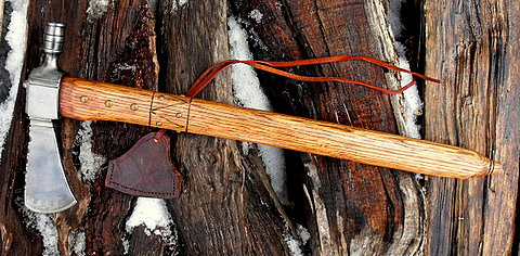 native american pipe tomahawk