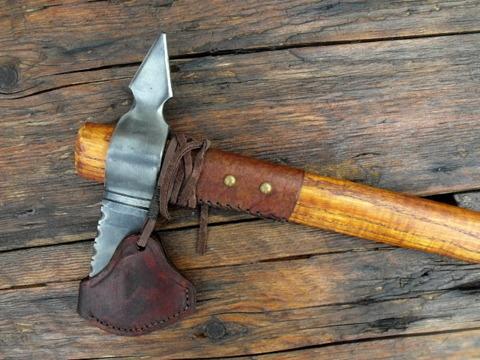 hand forged custom tomahawk