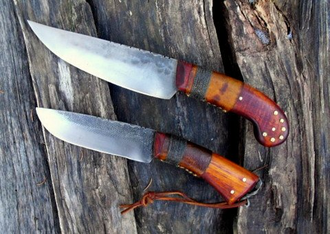 period hand forged scalper and hunter
